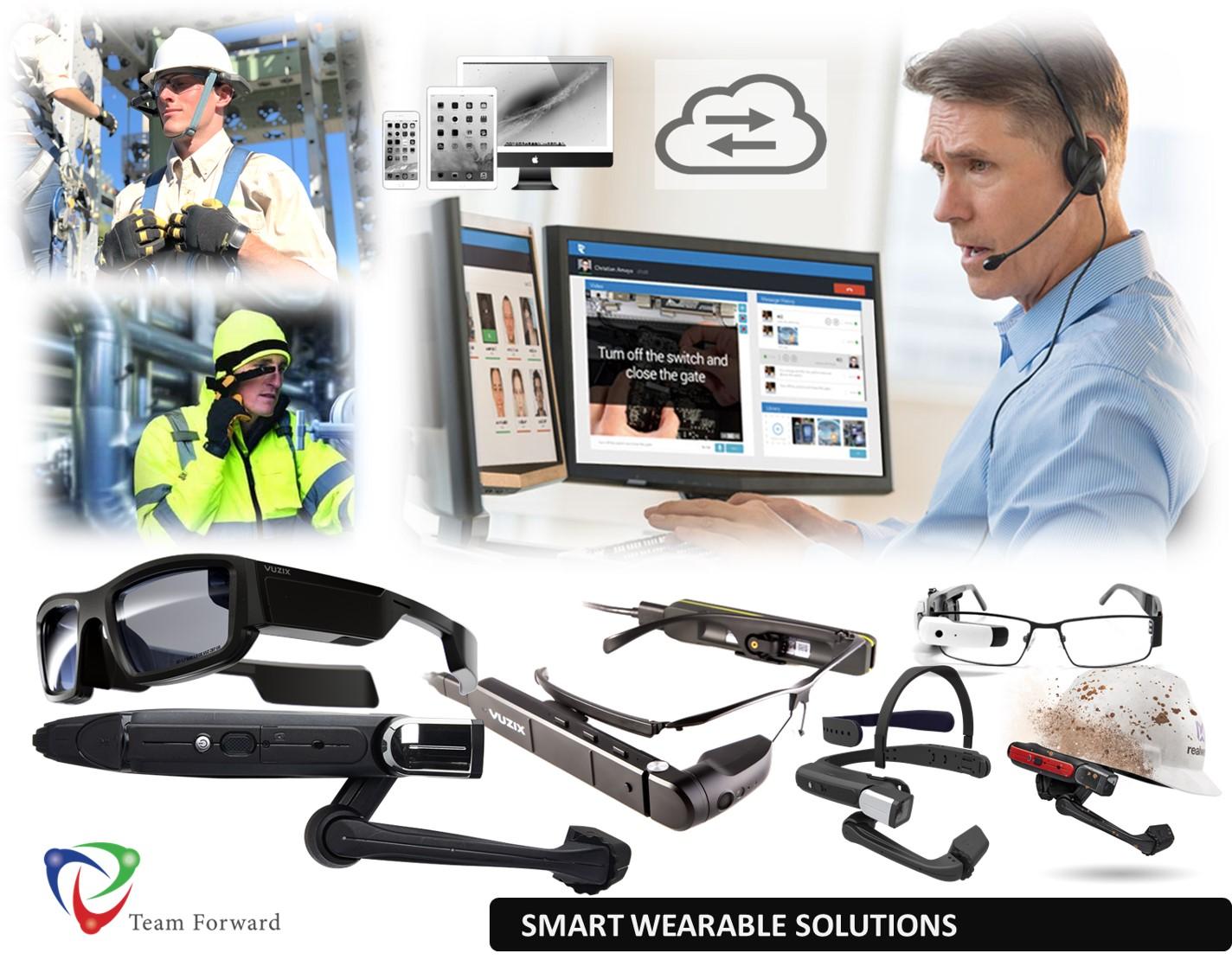 Team Forward Smart Glasses RealWear Vuzix