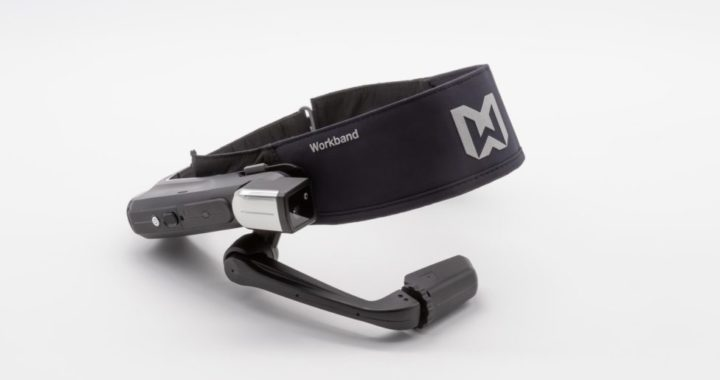 RealWear HMT with Workband